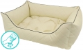 DandyBed Leather Beige